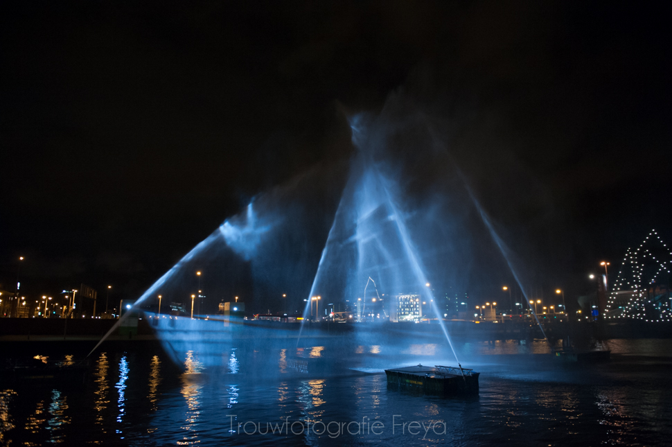 spookschip Amsterdam Light Festival 2014-2015