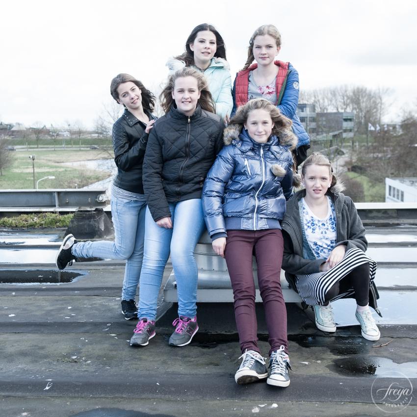 verjaardag shoot op dak ideefabriek Hoorn Studio 133