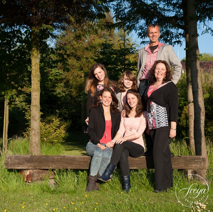 familie foto in de Beemster van gezin uit Oosthuizen
