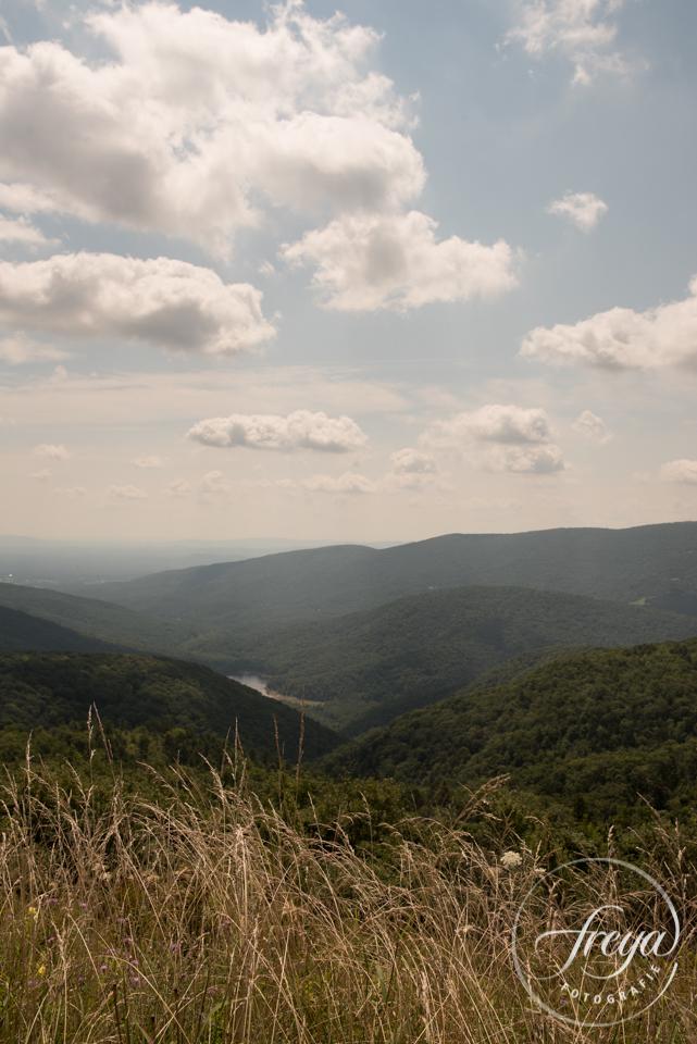 landschap natuur view blue ridge parkway