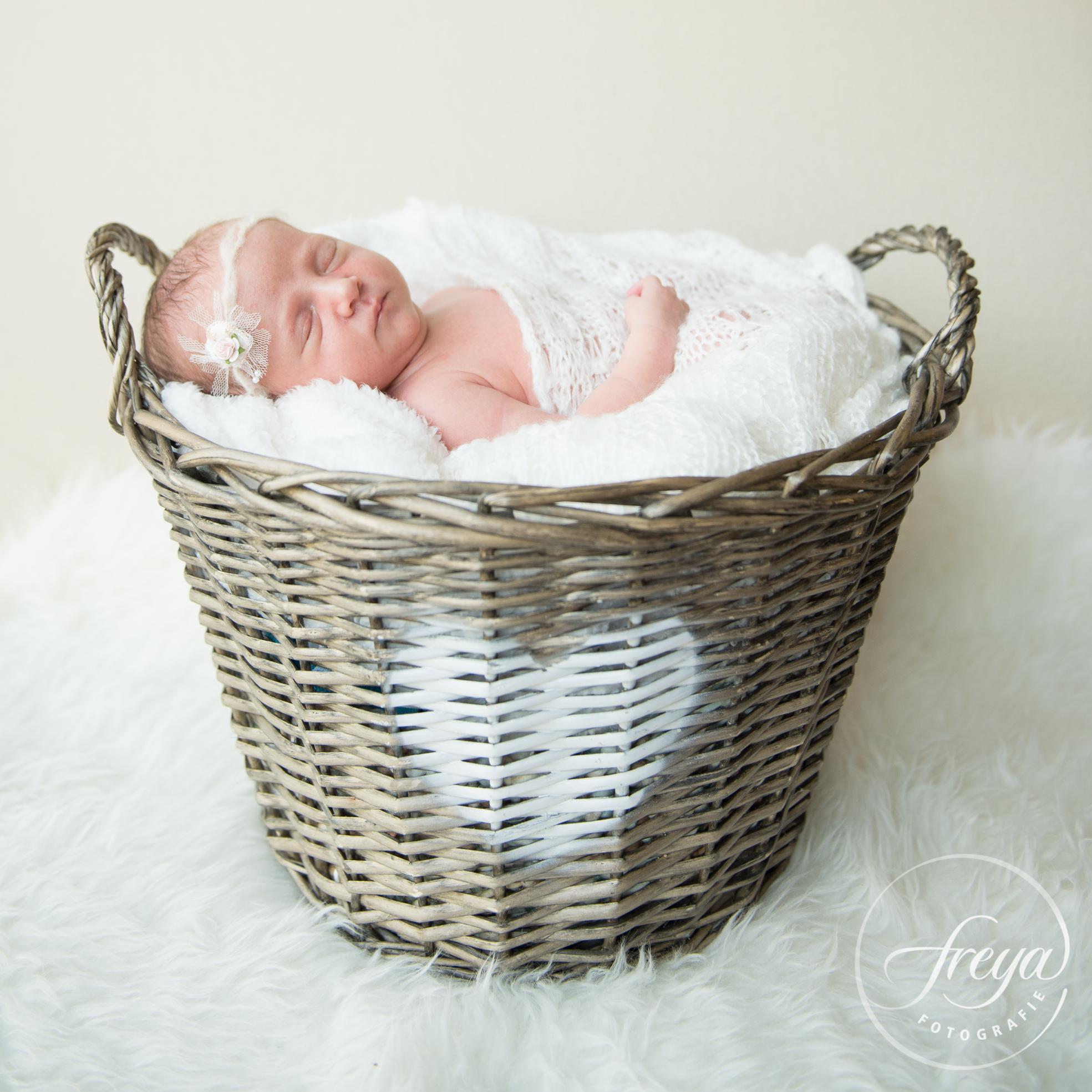 Newborn baby Jayda - Trouwfotografie Freya - 009