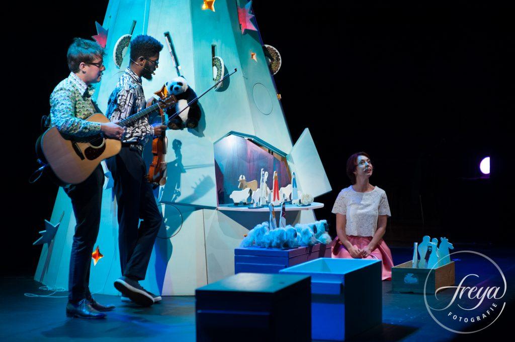 Theater fotografie voor Ageeth de Haan in De Doelen Rotterdam