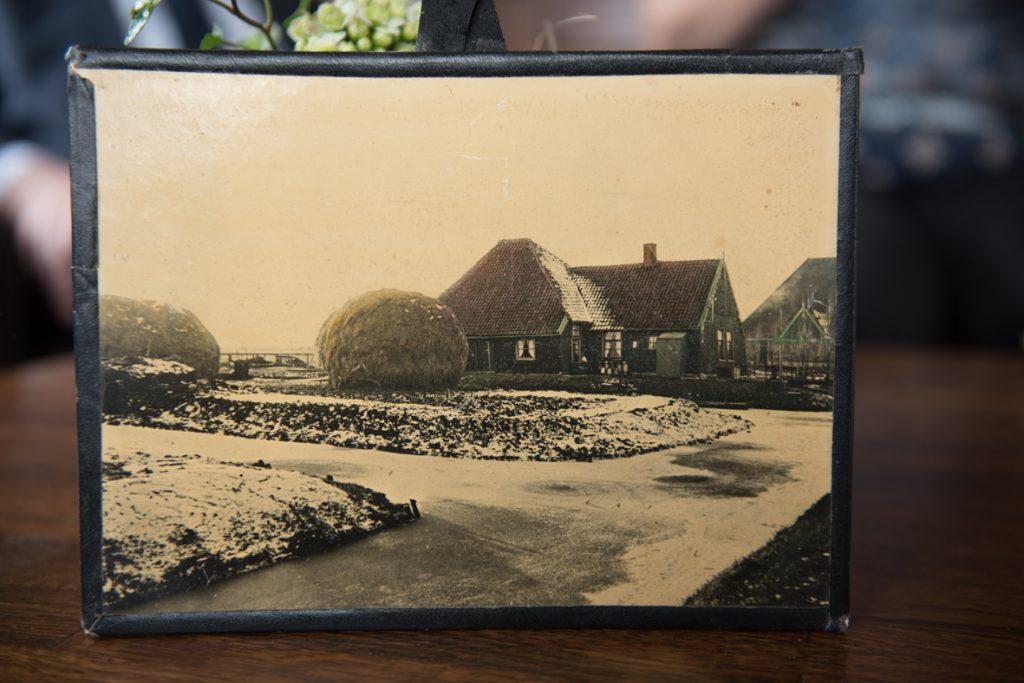 Foto van oude boerderij Warder - een mooie herinnering