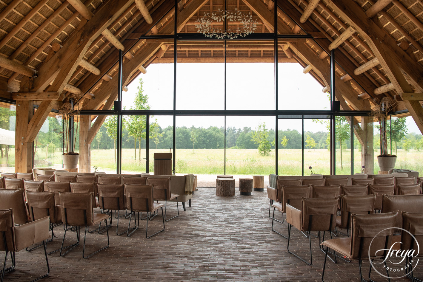 natuurbegraafplaats Maashorst grote zaal